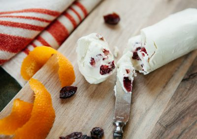Cranberry Orange Chèvre
